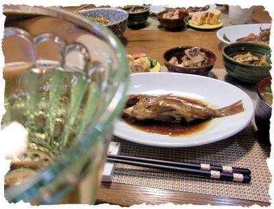 【ガヤメバルの煮付け】定食♪tofu sweet付き