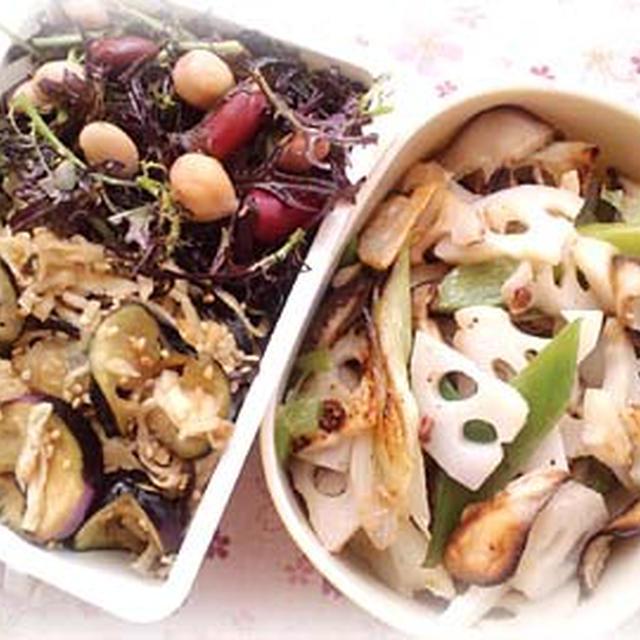 塩花椒きんぴらと日本酒試飲会で作った料理。
