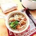 あらびき肉団子と韓国春雨の「食べるスープ」 ~ Nadia旬のレシピ掲載