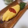 ポロポロ豆腐のオムライス
