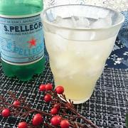 爽やかな生姜が香る純米酒カクテル琥珀色