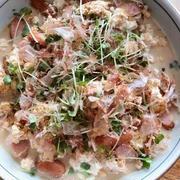 オヤジ伊豆合宿の朝食は、和食で野菜中心。