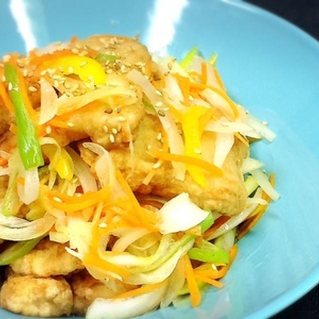 +今日の晩御飯+と酢玉葱