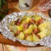 爽やか♪じゃが芋とウインナーの包み焼き