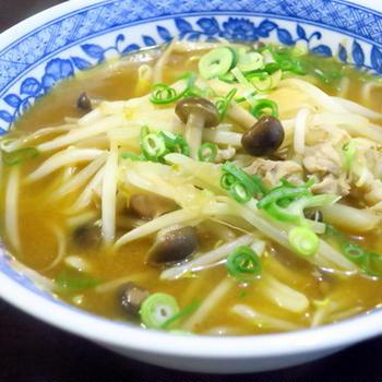 お気に入りの袋麺で「札幌味噌らーめん」
