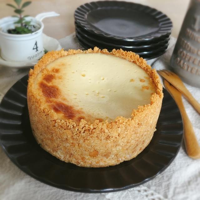 簡単*とろける蜂蜜チーズケーキ*
