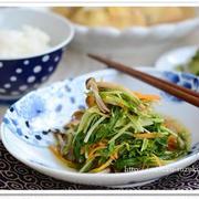 あと一品に重宝します♪簡単「水菜」の作り置きおかず5選