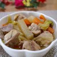 鶏肉と白菜と大根煮 おだしを変えてリピ