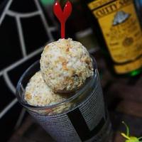 美味安心クリームチーズのナッツボール