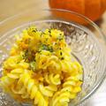 かぼちゃとマカロニの簡単サラダ