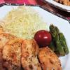 鶏胸の梅味噌マヨソテー