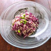 紫キャベツと大麦のサラダ