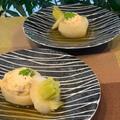 おもてなしに栗のテリーヌ「バウンド」・蕪の和風スープ煮を・・今朝の富士山