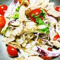 赤玉葱とグルテンフリーのマカロニサラダ