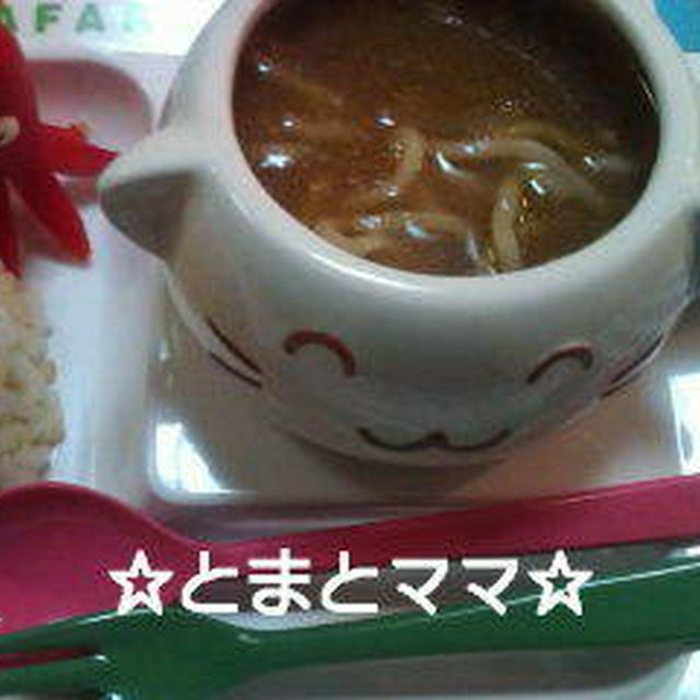 残ったカレーでスープヌードル&簡単パラパラ炒飯