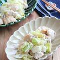 鶏むね肉と春キャベツのしらすガーリックソテー☆お弁当にも◎
