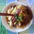千葉県産:豚ハツと大根のピリ辛炒め煮