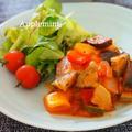 野菜ジュースでラタトゥイユハンバーグ by アップルミントさん
