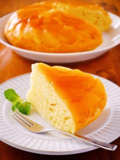 炊飯器&ホットケーキミックスで簡単りんごケーキ♪