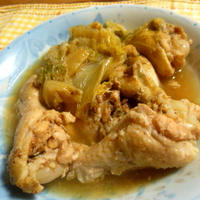 茅乃舎だしで白菜と手羽元の煮込みのレシピ