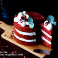 ビーツで作るレッドベルベットケーキ