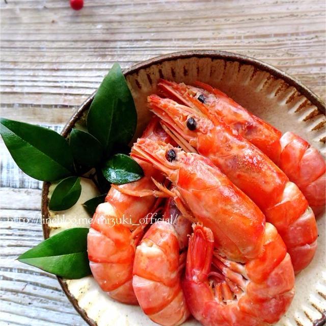 【お正月・おせち料理に】♡超簡単海老の旨煮♡