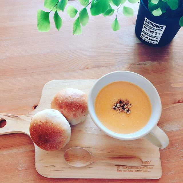 簡単★体に優しいピーナッツカボチャのスープ