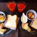 コメント欄再開です☆ベーコンと小松菜のカレー風味ココット♪☆♪☆♪