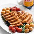 さっぱり鶏チャーシュー♥たっぷり野菜盛り♥おかわり続出【#味ぽん  #簡単おかず #節約 #鶏むね肉】