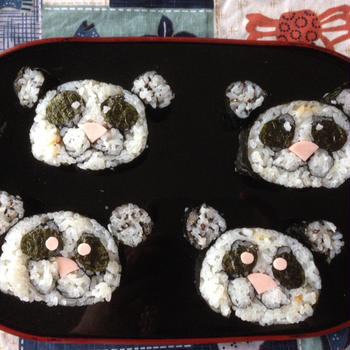 ★募集 パンダの飾り巻き寿司とプチ薬膳教室のお誘い  です