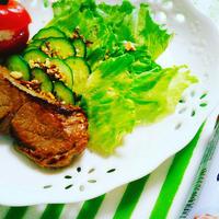 【レシピ】ラム肉のジューシー漬け焼き