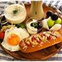 チーズホットドッグ(簡単レシピ)の朝ご飯とらん丸さん