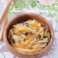 【作り置き】しめじと白菜の簡単レンチン副菜♡豊田家の頑張らない副菜レシピ