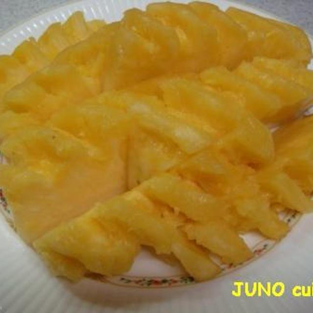 むき た パイナップル か パイナップルの切り方・パイナップルの食べ方