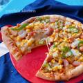 工程30分!マコモタケのピザ