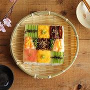 お花見弁当やお祝い御膳に♪モザイク寿司はいかが?