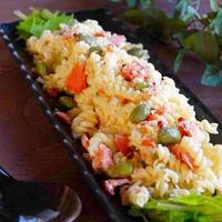 ☆鮭と枝豆のクリチサラダスパ☆