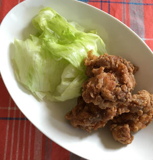 『うまソース』で作る鶏肉の唐揚げ