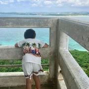 夏休み旅行 宮古島旅行 来間島 アオゾラパーラー 宝探し