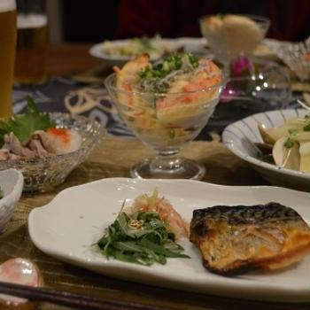大好き肴で秋の夜長を愉しむ~はまぐりお出汁でじゃがいも炊いたん~
