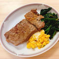 【糖質制限】ケトジェニックダイエット☆ステーキを食べよう!チキン&牛ステーキ