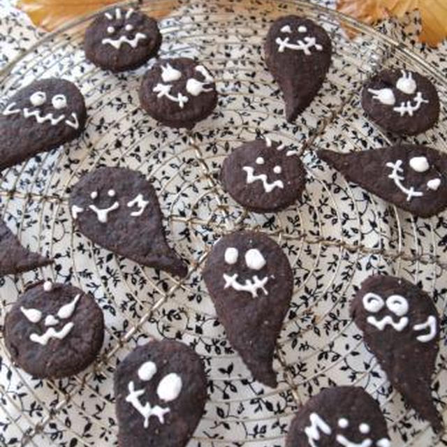 *卵乳製品不使用☆ハロウィンゴーストクッキー*