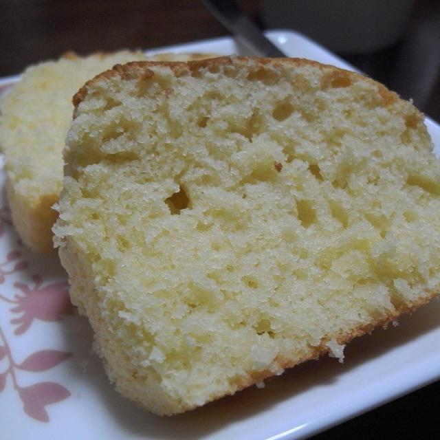 パウンドケーキ風マフィンのレシピ