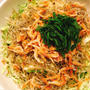 キレイを作る食卓〜春キャベツとちりめん山椒、桜えびのサラダ〜