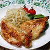 鶏ムネ肉の塩麹ソテー山椒風味