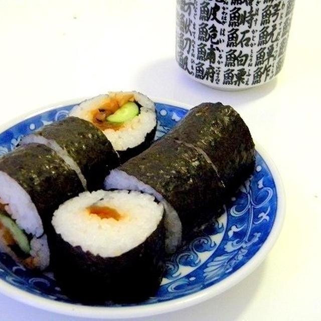巻き寿司できました
