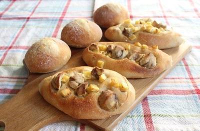 お芋と栗のパンとくらしのアンテナ掲載♪