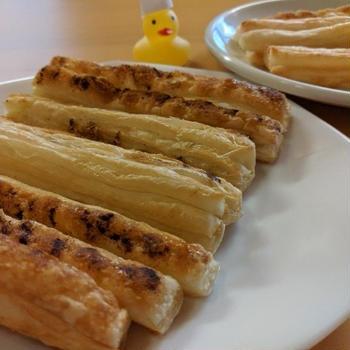 すぐに作れるお菓子!パイシートでスティックパイのレシピ