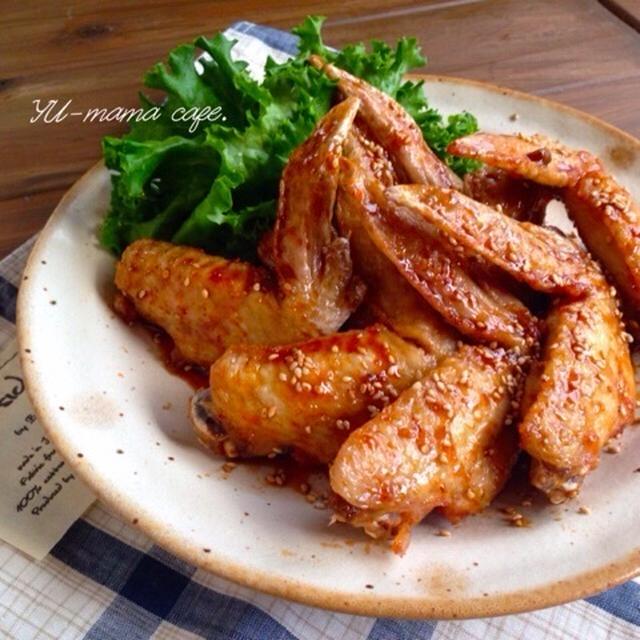 手羽唐の甘辛ダレ〜自家製冷凍食品 その③ー続編 お弁当おかず ー味噌しょうゆ焼きおにぎり