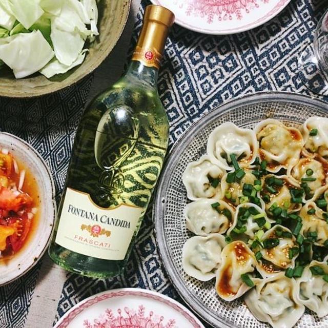 【カルディ】おすすめ白ワインと楽しむ!花椒が香る夏の水餃子